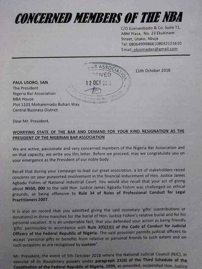 a mandate to conduct the investigation on the suspended hon and for them to determine if you can still maintain your position as the nba president